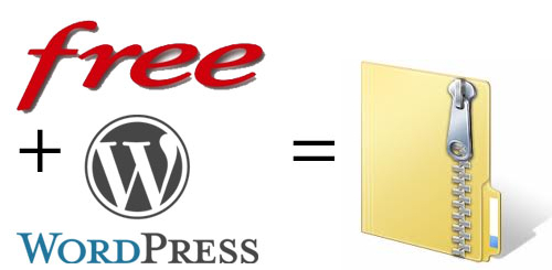 WordPress chez Free